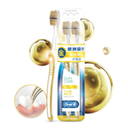 Oral-B 欧乐-B 金丝深洁超细软毛牙刷 2支 *6件56.4元(需用券,合9.4元/件)