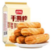 PLUS会员! PANPAN FOODS 盼盼 手撕棒面包 210g¥6.45 2.6折 比上一次爆料上涨 ¥0.55