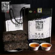 中国顶级黑茶品牌 白沙溪 一级天茯茶 安化黑茶 1000g