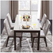 CHEERS 芝华仕 PT002 钢化玻璃餐桌椅组合 一桌四椅2999元