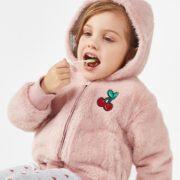 北美童装TOP品牌! The Children's Place 2020冬季新款女童加绒加厚水貂绒棉服外套¥99.90 2.1折 比上一次爆料降低 ¥9.1