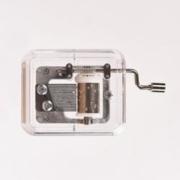 JIMITU 吉米兔 透明手摇音乐盒 卡农银色11.8元包邮(需用券)