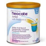 Neocate 纽康特 含益生元氨基酸无敏配方奶粉 1+段 草莓味 400g*4罐装 直邮含税到手¥1012.71