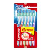 聚划算百亿补贴: Colgate 高露洁 超洁净牙刷 6支装