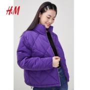 20日0点、年货节预告:H&M 0867994 女士短款棉服