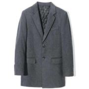 杉杉 X3D09100801B 男士西装领羊毛大衣