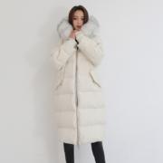 限地区:鸭鸭 DRA06B1400 女士中长款加厚羽绒服399元包邮(需用劵)