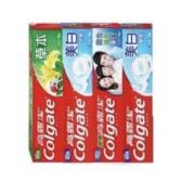 聚划算百亿补贴:Colgate 高露洁 牙膏组合 140g*4支8.5元包邮(需用券)