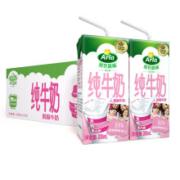 Arla 爱氏晨曦 高钙脱脂纯牛奶 200ml*24盒 *4件