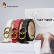 Hush Puppies 暇步士 女士真皮皮带 3色