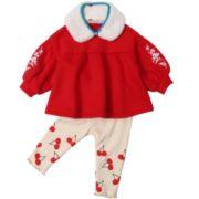 Cotton Town 棉花堂 儿童针织三件套装
