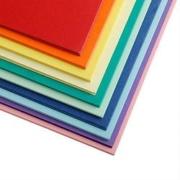 TANGO天章P5208A4彩色卡纸厚硬卡纸十色混装160克100张/包