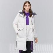 SNOW FLYING 雪中飞 X90140058V-8003 女士连帽加厚羽绒服399元包邮