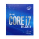 Intel 英特尔 i7-10700K 8核16线程 盒装CPU处理器
