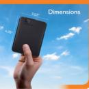 Western Digital Elements USB 3.0 便携式硬盘 黑色 4TB