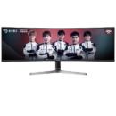 SAMSUNG 三星 C49RG90SSC 5K 120HZ曲面显示器 49英寸 32:9带鱼屏 HDR1000 HDMI+DP*2接口