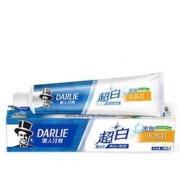 京东PLUS会员:DARLIE黑人 超白系列 密泡小苏打牙膏 190g