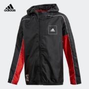 5日0点、38节预告:阿迪达斯 adidas 大童装训练运动梭织夹克外套 FL2806
