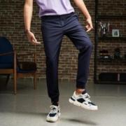Meters bonwe 美特斯邦威 88653026 男士舒适小脚慢跑裤低至32.85元/件