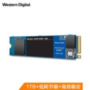 西部数据(Western Digital)1TB SSD固态硬盘 M.2接口(NVMe协议)WD Blue SN550 五年质保 四通道PCIe688元