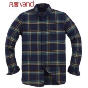 2日22点:Vancl 凡客诚品 1091969 男士法兰绒长袖衬衫39元(限500件)