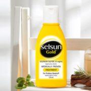Selsun Gold 去屑控油止痒洗发水 黄瓶 125ml
