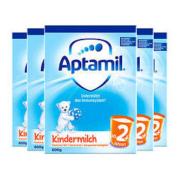 Aptamil 爱他美 婴幼儿配方奶粉 经典版 2+段 600g 5盒装