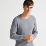 拉夫劳伦制造商 本米 550克重男加厚美利奴羊毛衫