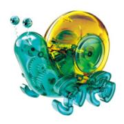 倍奇 steam玩具 太阳能动力蜗牛*5