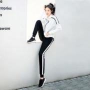 AC米兰  AC1856101  女款运动套装 (上衣+裤子)