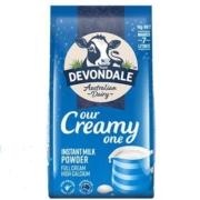 Devondale德运 全脂奶粉 1kg *3件