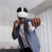 Oculus Quest 2 VR虚拟现实一体机 游戏系统 64GB  到手¥2200.89