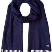 Lacoste 法国鳄鱼 男士羊毛围巾 MSM2072   直邮含税到手新低¥335.98