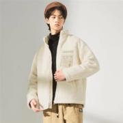 A21 R403114073 男士摇粒绒夹克外套低至132.25元