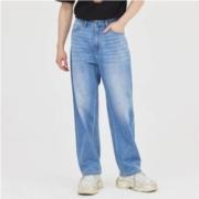 美特斯邦威 757306 男士直筒阔腿牛仔裤79.5元包邮(1件5折)