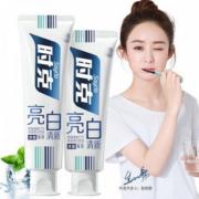 【时克】美白酵素牙膏2支
