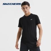 Skechers斯凯奇 男子 短袖T恤衫 P320M06558元包邮(需用券)
