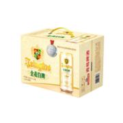 京东PLUS会员:青岛啤酒 全麦白啤 500ml*12听*2箱
