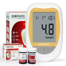 康泰 血糖测试仪 含50支试纸+50支采血针