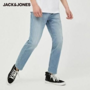 JackJones杰克琼斯 220232532 男士弹力水洗牛仔裤99.9元包邮(需用券)
