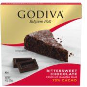 Godiva 歌帝梵 73%可可(苦甜)烘焙巧克力113g*12盒 直邮含税到手¥315.6