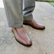 某猫¥1479!ECCO 爱步 Queenstown Bike 男士真皮正装皮鞋 858904 到手¥423.7