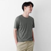 lativ 诚衣 46312 男士纯棉圆领T恤