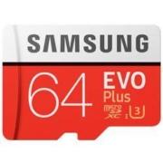 SAMSUNG 三星 EVO PLUS MicroSD存储卡 (64G)