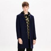 Trendiano 欧时力 3GC334755P730 羊毛混纺大衣156元