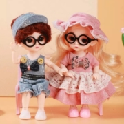 HUIQIBAO TOYS 汇奇宝 芭比娃娃礼盒 单款盲盒