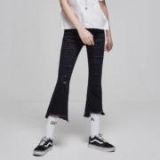 美特斯邦威 246900 女士微喇牛仔裤低至26.85元/件