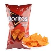 多力多滋(Doritos)玉米片非膨化美版奶酪198g-临期(4月18号到期)*2件