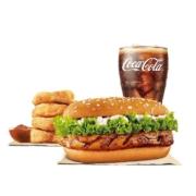 汉堡王 果木香单人餐 套餐 电子兑换券18元