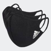 5日0点、38节预告: adidas 阿迪达斯 H08836 运动口罩 (三只装)82元包邮(0-1点)